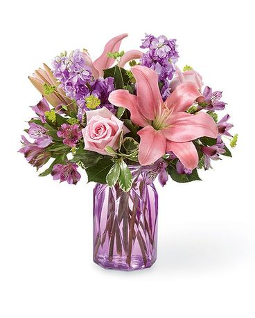 Lovely Lavender Bouquet Flower Arrangement
