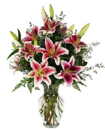 Stars Of Beauty Flower Arrangement
