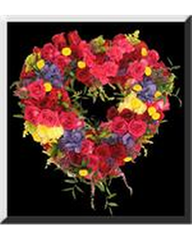 Heart of Victoria Funeral Arrangement