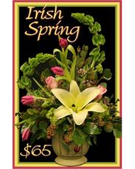 Irish Spring Flower Arrangement