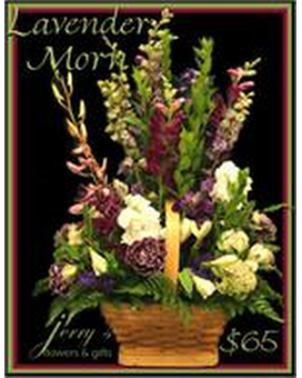 Lavender Morn Flower Arrangement