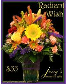 Radiant Wish Flower Arrangement