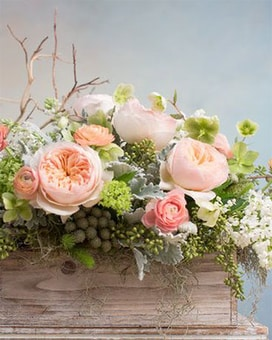 Juliet's Garden Flower Arrangement