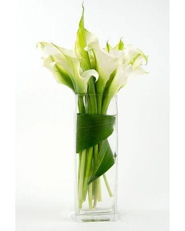 White Calla Lily Flower Arrangement