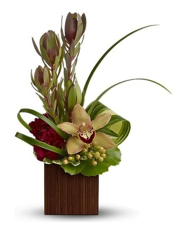 Bamboo Eden Flower Arrangement