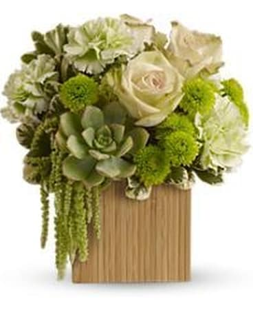 Bamboo Mist Flower Arrangement