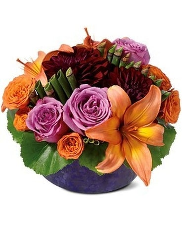 Contempo Centerpiece Flower Arrangement