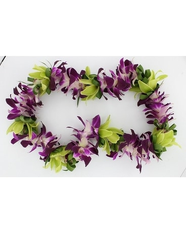 Orchid Lei Custom product