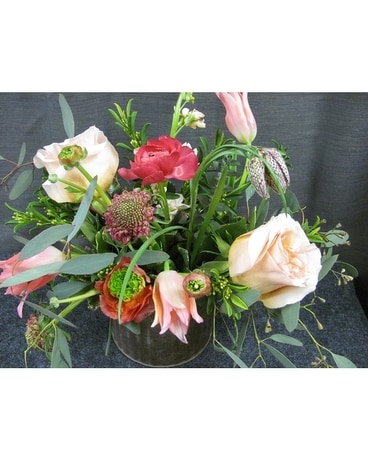 Designers Choice-Loose Garden Flower Arrangement
