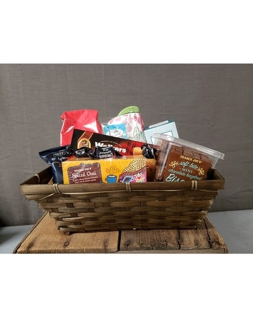 Coffee and Tea Basket Gift Basket