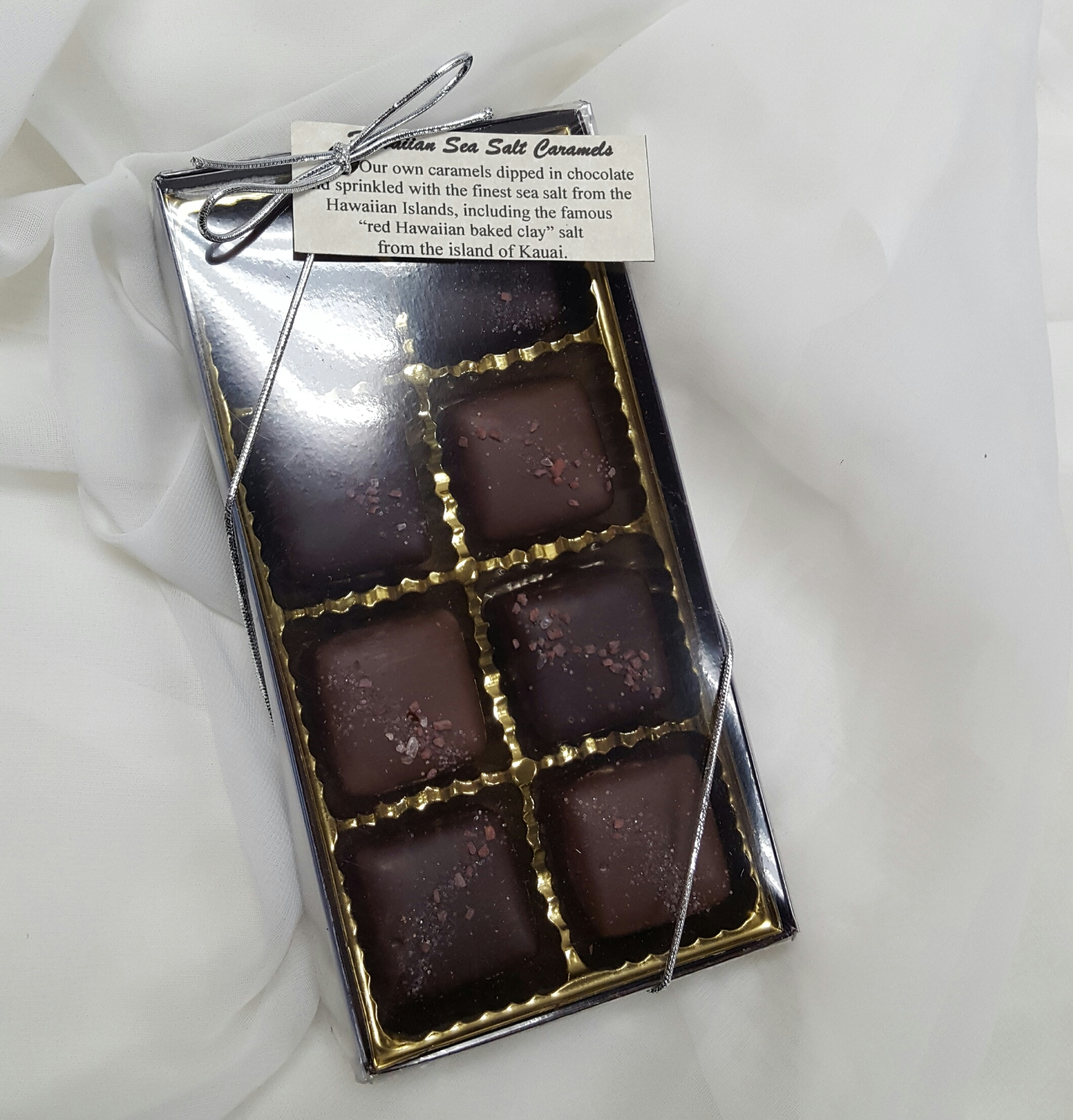 8pc Boehms salted caramels