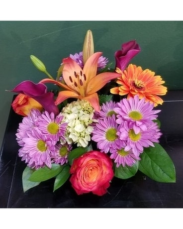 Double Trouble Flower Arrangement