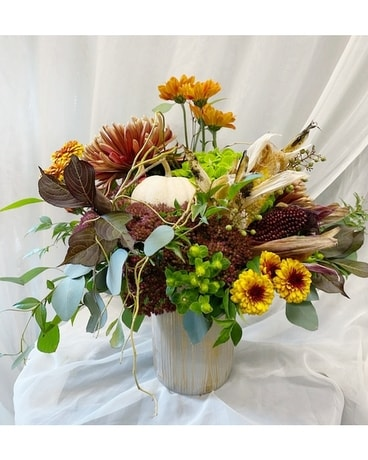 Indian Summer Flower Arrangement