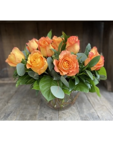 Free Spirit in Bubble Flower Arrangement