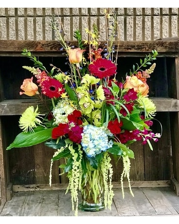 Knock Out Flower Arrangement