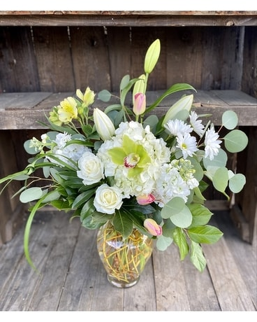 Green Meadows Flower Arrangement