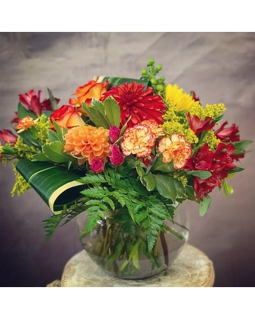 Fall Harmony Flower Arrangement