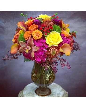 Colors Obsession Flower Arrangement