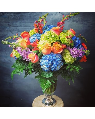Royal Victorian Painting Flower Arrangement