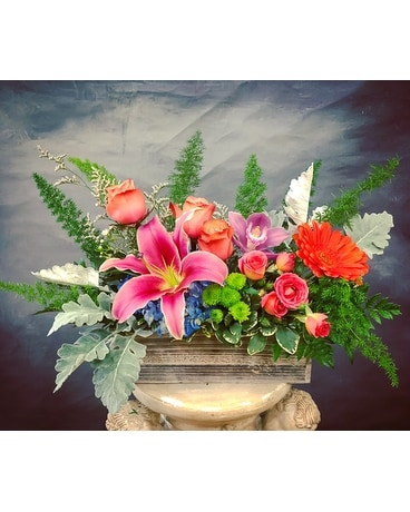 Garden's Allure Flower Arrangement