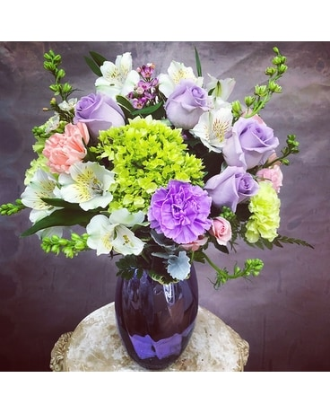 Lavender Lovers Flower Arrangement