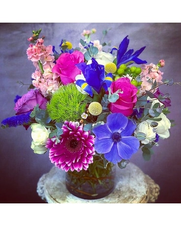 It's A Vibrant World Flower Arrangement