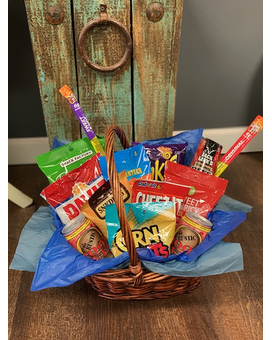 Dad's Snack Basket Gift Basket