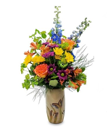 Butterfly Meadows Flower Arrangement