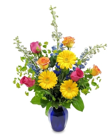 Beautifully Bold Flower Arrangement