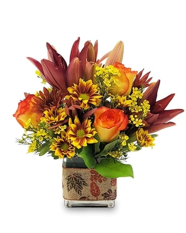 Magic Sunset Flower Arrangement