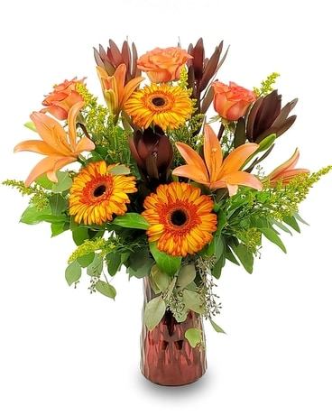 Autumn Obsession Flower Arrangement