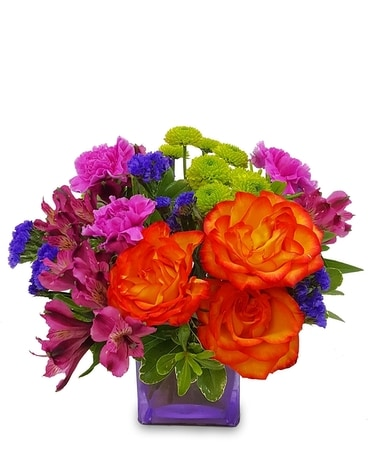 Scintillating Sentiments Flower Arrangement