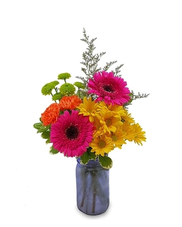 A Simple Smile Flower Arrangement