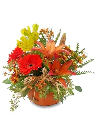 Pumpkin Joy Flower Arrangement