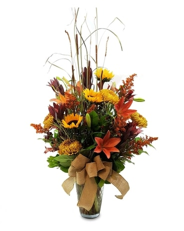 Autumn Garden Grandeur Flower Arrangement
