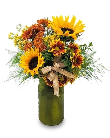 Autumn Picked Flower Arrangement