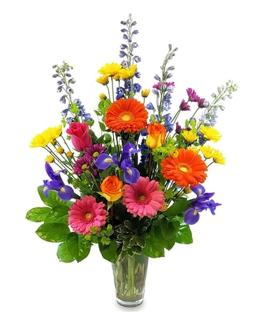 Radiant Birthday Flower Arrangement