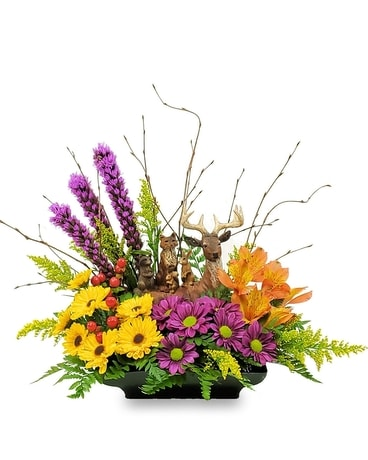 Forest Friends Flower Arrangement