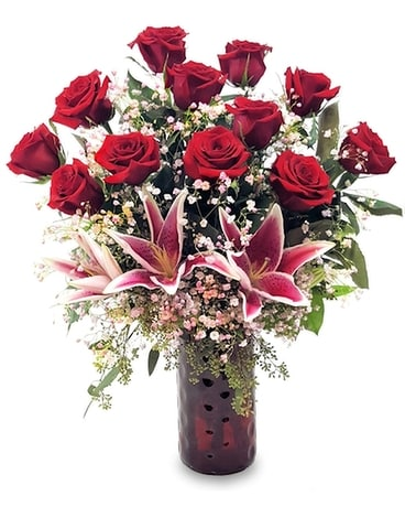 Unforgettable Dozen Flower Arrangement
