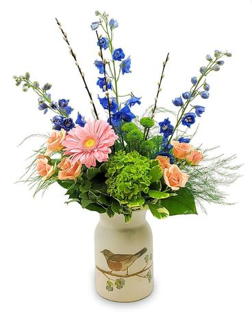 Robin's Meadow Flower Arrangement