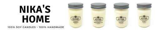 Nikas Home 16oz-Handmade Soy Candle
