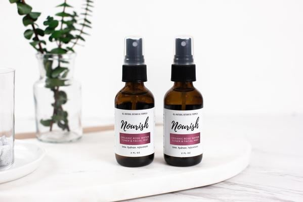 Nourish Organic Rose Water Toner & Facial Mist