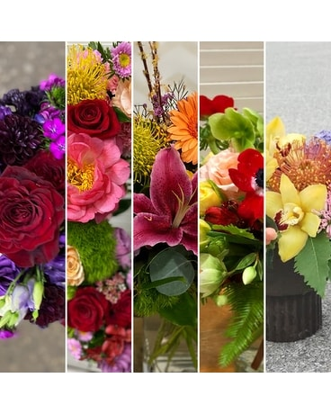 Vibrant Designer Selection Flower Arrangement