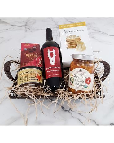 Dinner Date Night Gift Basket