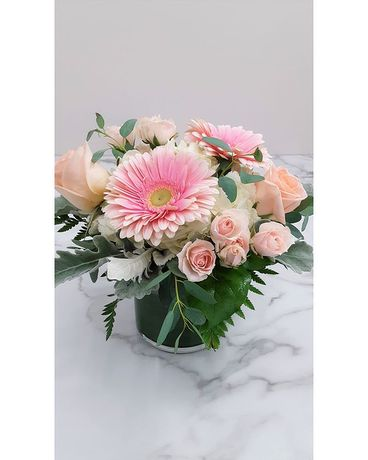 Compact Summer Fresh Arrangement Flower Arrangement