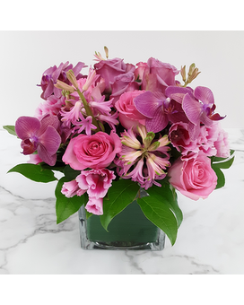 Pink Explosion Flower Arrangement