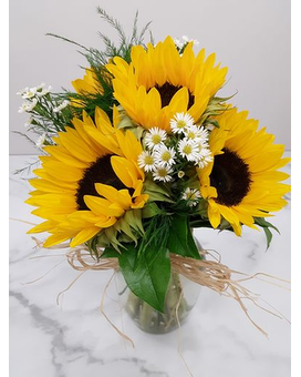 Sunflower Splurge Flower Arrangement