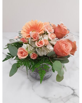Just Peachy Flower Arrangement