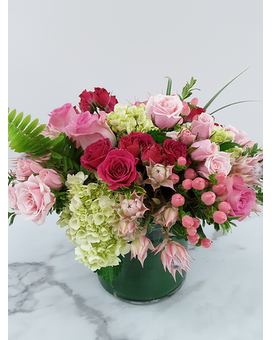 Watermelon Punch Flower Arrangement