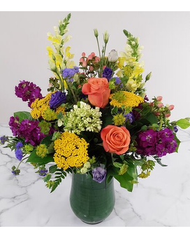 Summer Shimmer Flower Arrangement